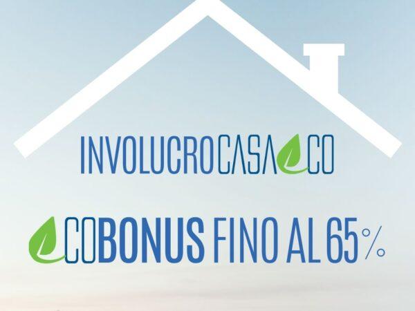 ecobonus 65% involucro casa