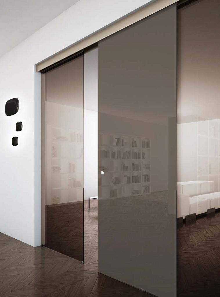 Porte Scorrevoli In Vetro Esterno Muro.Henry Glass Scor Esterno Muro Garden House