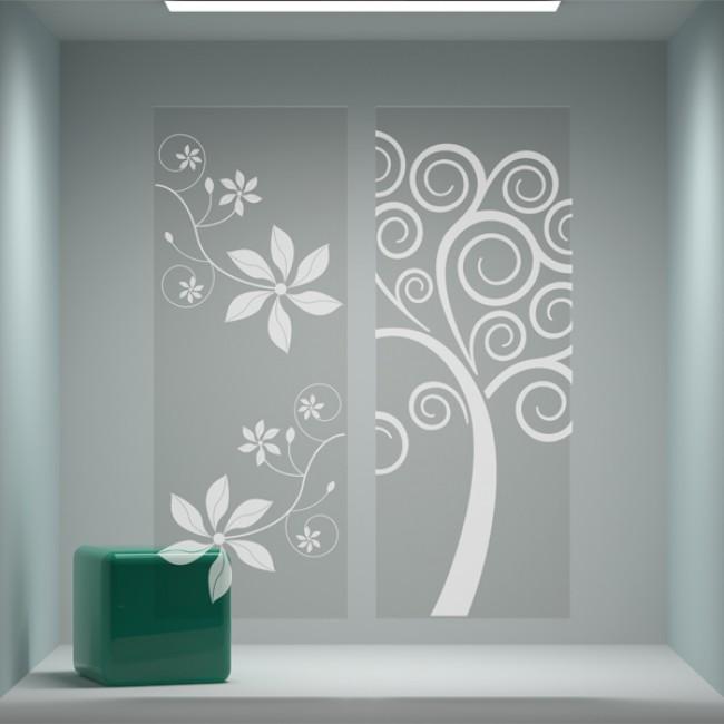 Bertolotto dekor vetri garden house - Decorazioni su porte interne ...