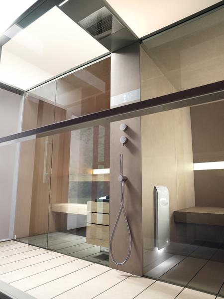 Effegibi sauna bagno turco logica twin garden house - Barili arredo bagno ...
