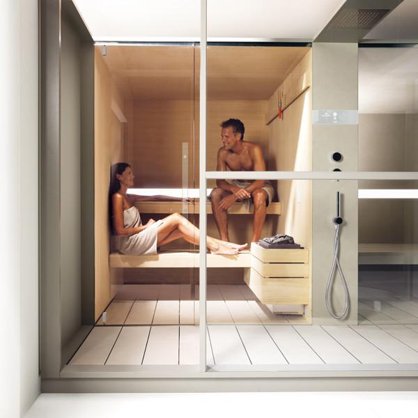 Effegibi sauna bagno turco logica twin garden house - Bagno turco effegibi ...