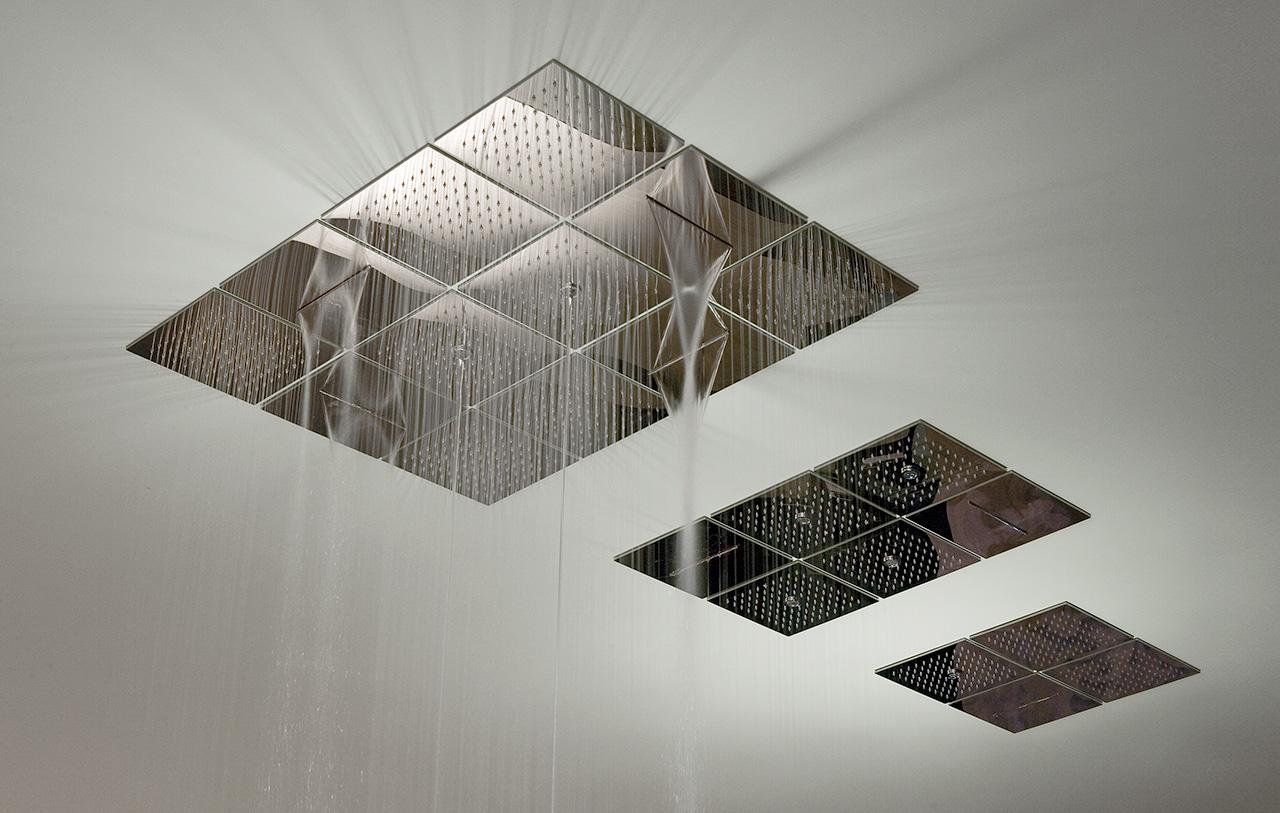 Antoniolupi lamattonella 2014 garden house - Soffione doccia a soffitto ...