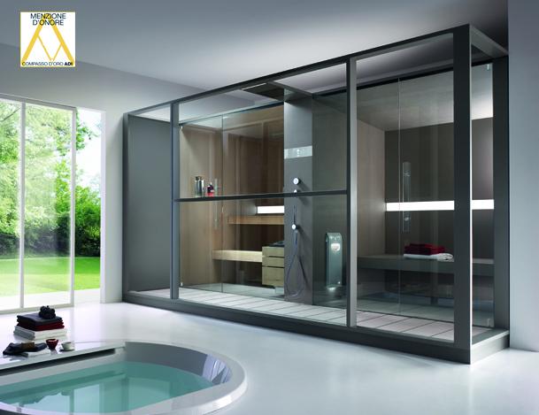 Effegibi sauna bagno turco logica twin garden house - Effetti sauna e bagno turco ...