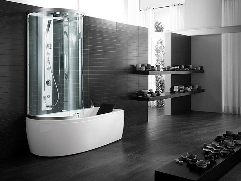 Teuco vasca e doccia combinati garden house - Vasca da bagno con box doccia ...