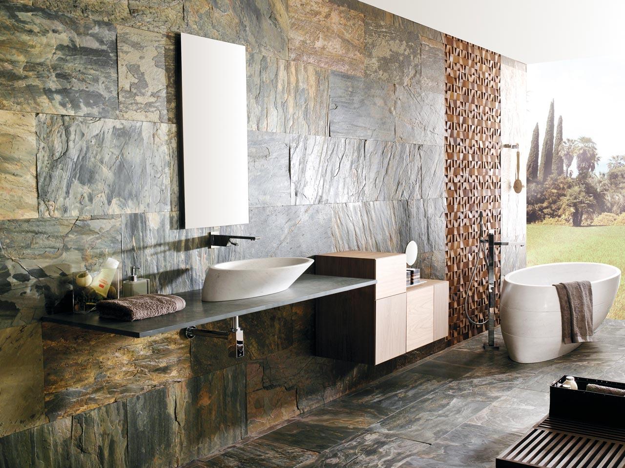 Vasche Da Bagno Porcelanosa Prezzi : Porcelanosa pietra naturale garden house