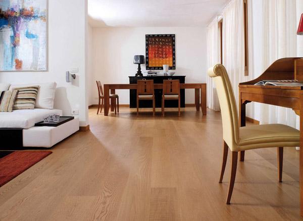 Berti parquet prefiniti antico garden house - Abbinare parquet e mobili ...