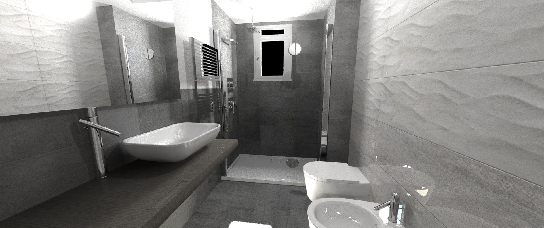 Rivestimento bagno piccolo pq05 pineglen for Idee rivestimento bagno