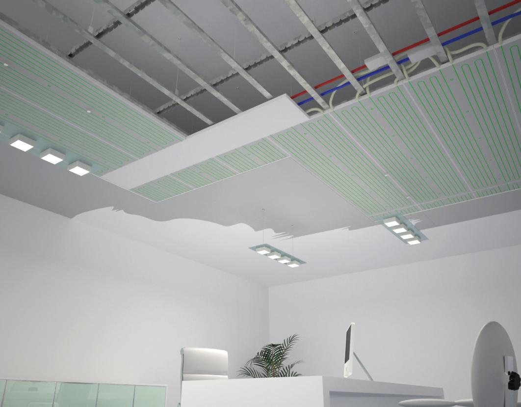 Freddo ecco 7 soluzioni alternative per il riscaldamento - Abbassare il soffitto ...