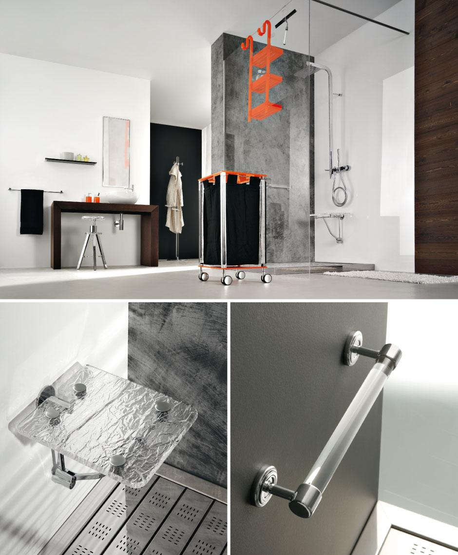 Accessori doccia portasapone idee creative e innovative - Accessori casa design ...