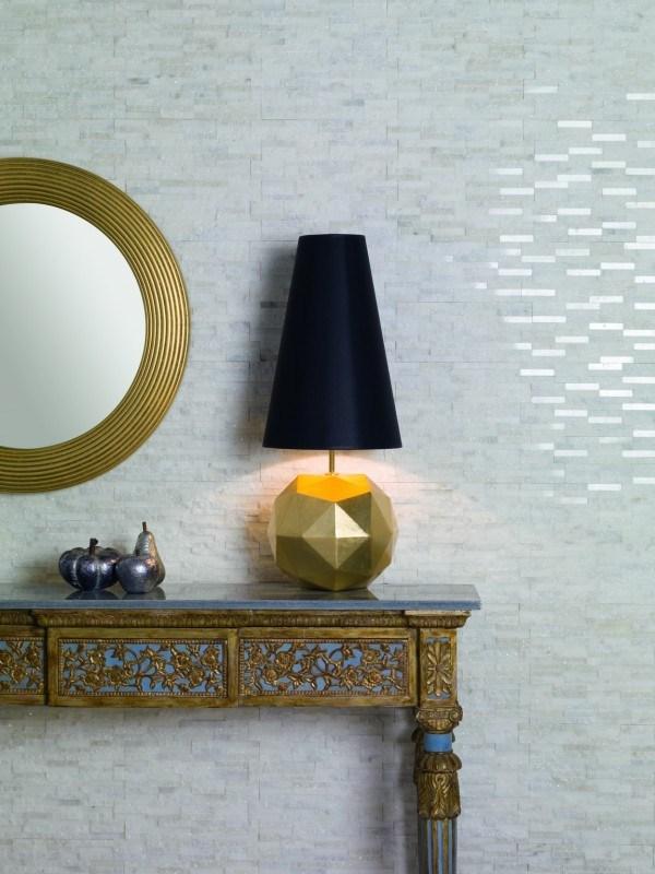 mosaico dune per camera da letto bianco