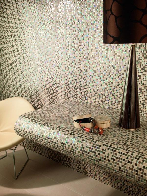 mosaico dune per camera da letto e comodino