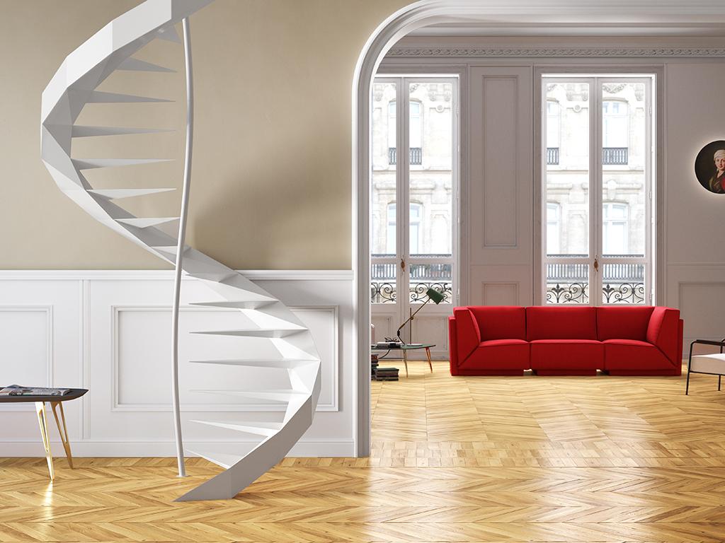 Scala come scegliere la forma e i materiali garden house - Scale di design ...