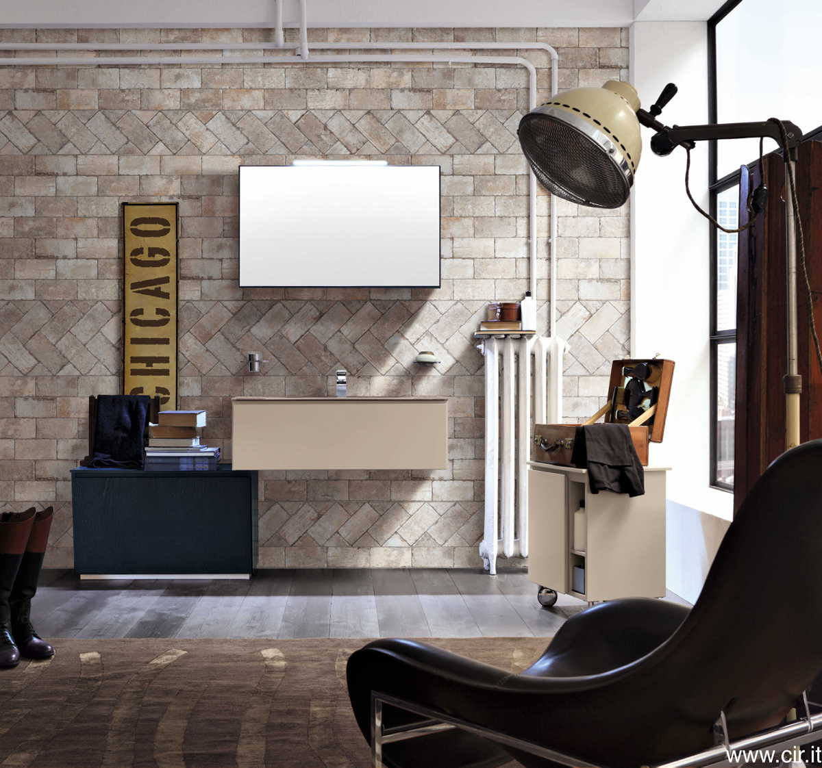 Ceramica cir chicago garden house for Studio41 home design showroom southside chicago