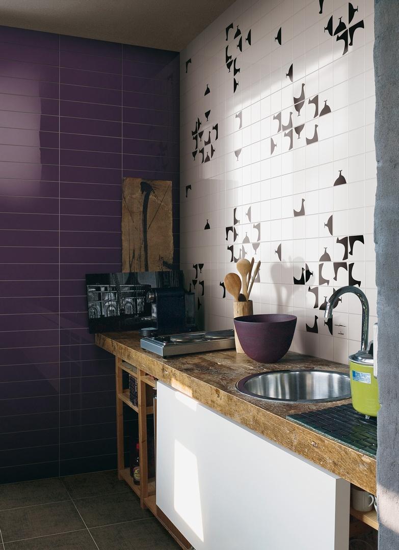 Ceramiche bardelli mezza garden house - Piastrelle disegnate ...