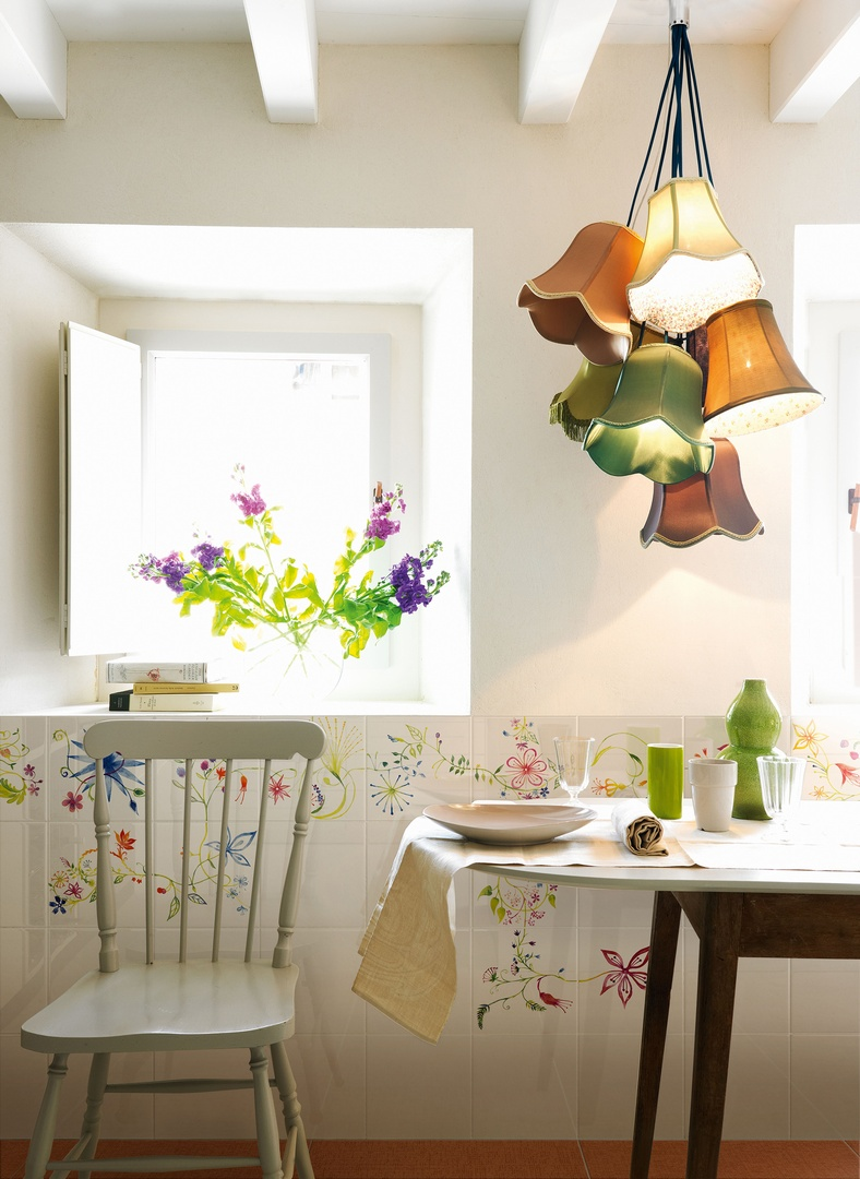 Ceramiche bardelli primavera colore garden house for Piastrelle cucina bianche e nere