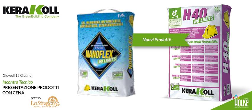 Kerakoll incontro tecnico gratuito colla h40 nanoflex novit - Colla per piastrelle kerakoll ...