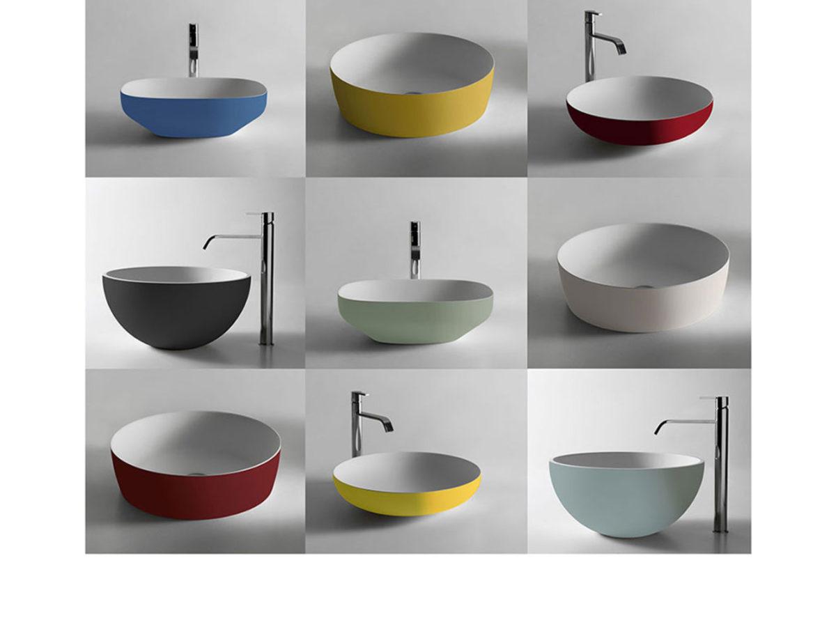 Antonio Lupi e il fascino del colore dell\'arredo bagno, a ...