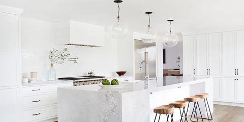 Open Space, total white e tecnologica: è questa la cucina dei sogni ...