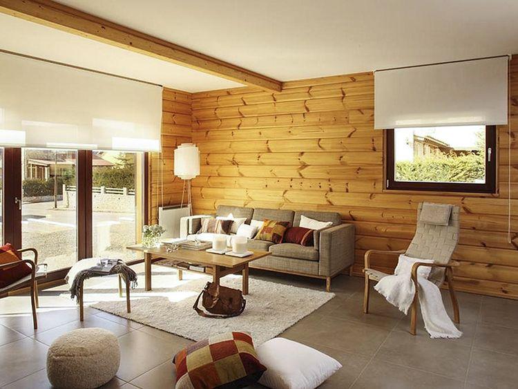 rivestimento parete in legno Solquer