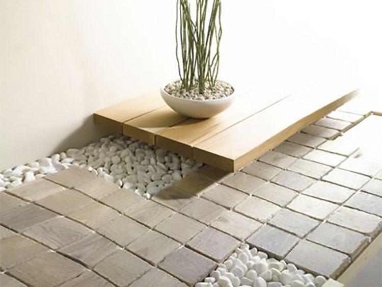 Pavimento Parquet mosaico Solquer