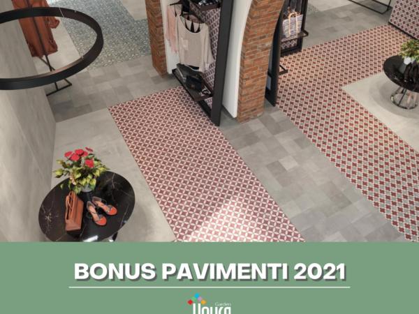 bonus pavimenti 2021